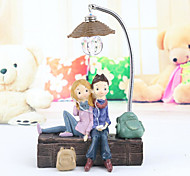 abordables -cadeaux objets décoratifs décorations pour la maison, style simple en résine pour la décoration de la maison cadeaux 1 pc 13,5 * 4 * 23 cm