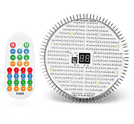 abordables -1 pc 20 W 2266.5 lm 280 Perles LED Télécommande Spectre complet Installation Facile Lampes Horticoles LED Luminaire croissant Rouge Serre de légumes Noël Nouvel An