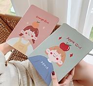 abordables -téléphone Coque Pour Apple Coque Intégrale iPad Mini 4 iPad Pro 11 pouces iPad Mini 5 Antichoc Bande dessinée faux cuir