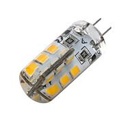 abordables -g4 ampoule led base bi-pin lampe spot 2835 smd 24 leds dc12v 20w ampoule halogène équivalent 2w pour maison 360 degrés blanc blanc chaud 1pc