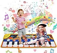 economico -Tastiera giocattolo Giocattolo per tappetino musicale Piano 19 Piano Key Piano Tappetino Giocattoli educativi Tessuto Ragazzi e ragazze Bambino Regali di laurea Giocattoli Regalo / CE