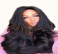 abordables -Perruque Synthétique Bouclé Partie médiane Perruque Long Brun claire Cheveux Synthétiques 18 pouce Femme Vie Homme Synthétique Marron clair