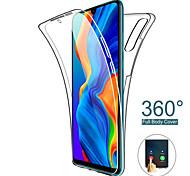 economico -telefono Custodia Per Huawei Integrale Silicone Custodia in silicone HUAWEI P40 Pro Huawei P Smart 2019 Huawei Y6 (2019) Resistente agli urti Ultra sottile Transparente Transparente TPU Silicone