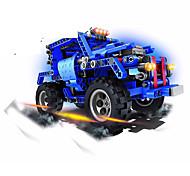 economico -1:60 Macchinine giocattolo Costruzioni Auto SUV Giocattolo di fuoco Fantastico Fai da te Plastica Mini veicoli per auto Giocattoli per bomboniere o regali di compleanno per bambini 1 pcs / Bambino