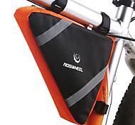 abordables -2.6 L Sac Cadre Velo Multifonctionnel Réfléchissant Etanche Sac de Vélo Térylène Sac de Cyclisme Sacoche de Vélo Téléphones de taille similaire Activités Extérieures