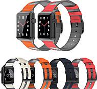 economico -Cinturino intelligente per Apple  iWatch 1 pcs Cinturino sportivo Banda di affari Silicone Similpelle Microfibra Sostituzione Custodia con cinturino a strappo per Apple Watch Serie SE / 6/5/4/3/2/1