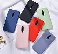 economico -telefono Custodia Per OnePlus Per retro Silicone Custodia in silicone OnePlus 8 Pro OnePlus 8 OnePlus 7 Oneplus 7 pro uno più 7T uno più 7T Pro Effetto ghiaccio Tinta unita Silicone