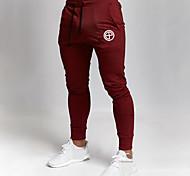 abordables -Homme Joggings Pantalons de Jogging Pantalon de Survêtement Sport & Loisir Vêtements de sport Bas Cordon Hiver Fonctionnement Marche Le jogging Entraînement Respirable Evacuation de l'humidité Doux