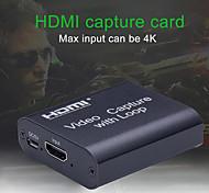 abordables -Carte de capture vidéo HD 4K Capture vidéo HDMI USB 2.0 avec streaming en direct Diffusion en direct Enregistrement vidéo pour une acquisition haute définition
