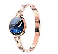 abordables -AK15 Unisexe Smartwatch Montre Connectée Bracelets Intelligents Bluetooth Imperméable Moniteur de Fréquence Cardiaque Enregistrement de l'activité Santé Informations Podomètre Rappel d'Appel Moniteur