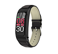 abordables -R21 Unisexe Smartwatch Montre Connectée Bracelets Intelligents Bluetooth Imperméable Mode Mains-Libres Enregistrement de l'activité Santé Informations Podomètre Rappel d'Appel Moniteur d'Activit