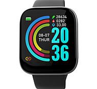 abordables -696 W6 Unisexe Bracelets Intelligents Bluetooth Imperméable Moniteur de Fréquence Cardiaque Mesure de la pression sanguine Sportif Informations Podomètre Rappel d'Appel Moniteur d'Activité Moniteur
