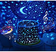 abordables -Projecteurs Lune Etoile Lampe Ciel Etoilé Eclairage LED Jouets Lumineux Lampe Constellation Projecteur étoile Brillant 5 V USB Batteries alimentées Enfant Adultes pour des cadeaux d'anniversaire et