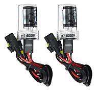 abordables -Kit de conversion d'ampoules de phares au xénon H7 pour voiture H7 55W DC 9-16V 5500LM 5000K / 6000K / 8000K IP68