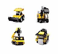 abordables -Blocs de Construction Jouet Educatif Jeu de construction Jouets 161 pcs Automatique Dessin animé compatible Carcasse de plastique Legoing Exquis Fait à la main Jouets de décompression Bricolage