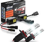 abordables -Kit de conversion de phares de voiture au xénon HID 6000K H1 H3 H4 H7 H8 / H9 / H11 9005 9006880 9012 sans erreur avec ballast