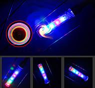 abordables -LED Eclairage de Velo Lampe de Décoration Eclairage Décoration de vélo LED Vélo Cyclisme Super brillant LR1130 120 lm Batterie LR1130 Plusieurs Couleurs Cyclisme