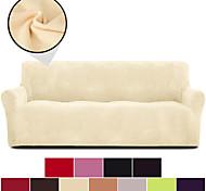 abordables -Housse de canapé Couleur Pleine / Classique Teinture Polyester Literie