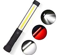 economico -enusic 360 gancio ricaricabile pannocchia led lavoro luce magnetica bianco rosso torcia a mano torcia ispezione lampada