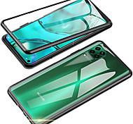 economico -telefono Custodia Per Huawei Integrale Custodia ad adsorbimento magnetico nova 7 SE Nova 7 5G nova 7 Pro 5G Nova 6 5G nova 7i Huawei Nova 6 Huawei Nova 6SE A specchio Doppia setola Tinta unita Vetro