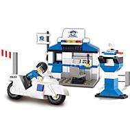 abordables -Blocs de Construction Jouet Educatif 86 pcs Dessin animé Tour Sears compatible Carcasse de plastique Legoing Exquis Fait à la main Jouets de décompression Bricolage Garçons et filles Jouet Cadeau