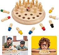 economico -Giochi da tavolo Gioco educativo Gioco di scacchi in legno di legno Giochi in famiglia Gioco festa Interazione tra genitori e figli Interazione familiare Intrattenimento domestico Bambino Da bambino