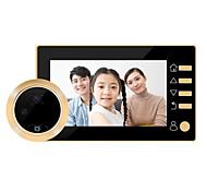 abordables -SW10 Câblé 4.3 pouce Photographié / Enregistrement / Sonnette vidéo Multifamilial 1080 Pixel Système Mains-Libres / Téléphone interphone vidéo