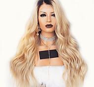 abordables -Perruque Synthétique Bouclé Partie médiane Perruque Longue Brun claire Cheveux Synthétiques 18 pouce Femme simple Synthétique Adorable Marron clair