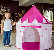 abordables -Tentes & Tunnels de Jeux Abris de Jeux Tentes Tente de jeu pour enfants Château Tipi Château Princesse Etoile Pliable Phosphorescent Pratique Polyester Microfibre de polyester Intérieur Extérieur
