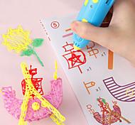 abordables -Jeu de Dessin Stylo d'impression 3D Créatif Carcasse de plastique Peinture Sortie de charge USB Basse température Jouets éducatifs Enfant Adulte Femme Garçons et filles pour des cadeaux