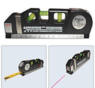 economico -laser verticale livello-orizzontale lv-03 misura 8ft allineatore standard e righello metrico laser di livello multifunzione