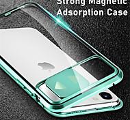 economico -telefono Custodia Per Apple Integrale iPhone 11 iPhone 11 Pro iPhone 11 Pro Max iPhone SE 2020 A specchio Protezione per obiettivo della fotocamera Tinta unica Vetro temperato Metallo