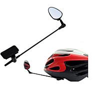 abordables -Miroir de Casque de Vélo Vol rotatif de 360 degrés Rétractable Conception Ergonomique Cyclisme moto Vélo ABS Noir 1 pcs Vélo de Route Cyclotourisme