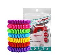 abordables -20 pièces Bracelets anti-moustiques Portable Non Toxique Pour l'Intérieur Voyage Intérieur Extérieur Enfants Adultes Adolescent Bébé