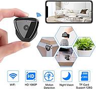 abordables -mini caméra wifi hd 1080p mini caméra sans fil caméra en direct caméra activée par le mouvement caméra de sécurité sans fil nanny cam pour la maison et l'extérieur la plus récente version