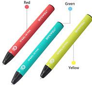 abordables -Myriwell 3D Pen 3D Touch Sensing Pen USB Chargeur Imprimante 3D Pen ou 25m PCL Filament ou Alimentation Cadeau D'anniversaire pour Enfants Jouets