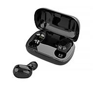 economico -L21 Auricolari wireless Cuffie TWS Senza filo Stereo Dotato di microfono Con la scatola di ricarica per Apple Samsung Huawei Xiaomi MI Sport Fitness