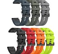 economico -Cinturino intelligente per Garmin 1 pcs Cinturino sportivo Silicone Sostituzione Custodia con cinturino a strappo per Fenix 5x Fenix 5 Fenix 5 Plus Fenix 5x Plus Fenix 3 HR 22mm 26mm