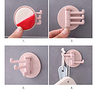 economico -Ganci Auto-adesivo / Facile da usare Essenziale / Contemporaneo moderno ABS 5 pezzi - Strumenti e attrezzi organizzazione del bagno
