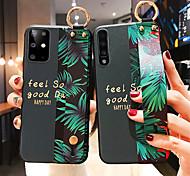 economico -telefono Custodia Per Samsung Galaxy Per retro A91 / M80S S10 Lite Galaxy A81 / M60S Galaxy A41 Galaxy A71 Galaxy Note10 Lite A31 Fascetta da braccio Frasi famose Floreale TPU PC Metallo