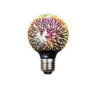 abordables -1pc 4.5 W Ampoules Globe LED 125 lm E27 G95 20 Perles LED SMD 3528 Créatif Design nouveau Soirée Jaune chaud 85-265 V