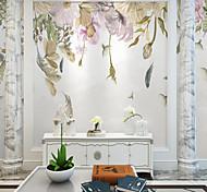 economico -carta da parati autoadesiva su ordinazione murale fiori dipinti a mano adatti a fondo della camera da letto decorazione della parete parete art