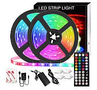 abordables -Bande LED Led Musique Sync Étanche 10m RVB LED Bande Lumineuse pour Éclairage de Salle SMD 5050 Kit de Lumières de Bande à Changement de Couleur avec Contrôleur LED Flexible Bande LED Étanche pour