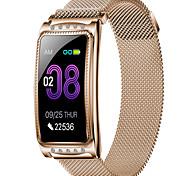 economico -F28 Per donna Braccialetti intelligenti Bluetooth Monitoraggio frequenza cardiaca Misurazione della pressione sanguigna Calorie bruciate Standby lungo Assistenza sanitaria Cronometro Pedometro Avviso
