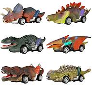abordables -Playsets de véhicules Petite Voiture Dinosaure Jurassique Tyrannosaure tyrannosaure rex Mignon Créatif Frais PVC (Polyvinylchlorid) Plastique Mini véhicules de voiture jouets pour cadeau / Enfants