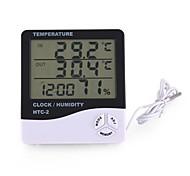 economico -termoigrometro htc-2 termoigrometro elettronico per la casa a grande schermo a singola temperatura con sveglia