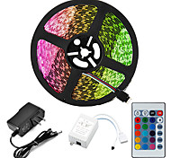 economico -Set di luci da 5 m strisce luminose a led rgb luci tiktok 2835 smd 8mm telecomando rc dimmerabile tagliabile 12 v ip65 impermeabile collegabile cambia colore autoadesivo