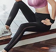 economico -Per donna Pantaloni Pantaloni a compressione Sportivo Livello Base Calze / Collant / Cosciali Ghette Retato Collage Retato Elastene Inverno Corsa Marcia Jogging Addestramento Fasciante in vita