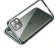 economico -telefono Custodia Per Apple Integrale iPhone 12 Pro Max 11 SE 2020 X XR XS Max 8 7 6 Resistente agli urti Transparente Protezione per obiettivo della fotocamera Transparente Vetro temperato Metallo