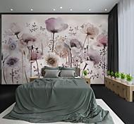 economico -Personalizzato murale autoadesivo dipinto a mano bellissimo fiore viola adatto per sfondo muro ristorante camera da letto hotel decorazione murale arte parete panno camera rivestimento murale